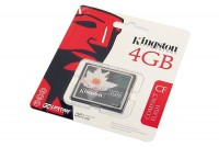 MEMORY CARD Kingston CompactFlash 4GB