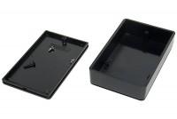 BLACK PLASTIC BOX 23x56x90mm