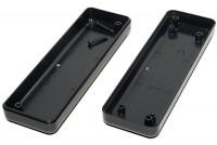 BLACK PLASTIC BOX 24x40x129mm
