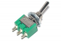 1-POLE SMALL TOGGLE SWITCH ON/OFF/ON