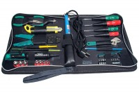 TOOL SET WITH SOLDERING IRON