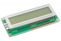LCD-NÄYTTÖ 1x16 LED-TAUSTAVALOLLA