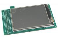 "VÄRILLINEN 3.2"" TFT LCD-MODULI 320x240 KOSKETUSNÄYTÖLLÄ (SPI)"