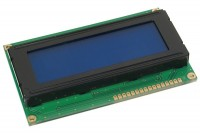 LCD DISPLAY 4x20 BLUE/WHITE WITH LED BACKLIGHT