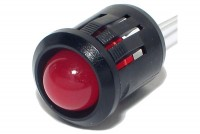 LED PLASTIC HOLDER 10mm SNAP-IN