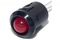 LED PLASTIC HOLDER 8mm SNAP-IN