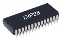 SRAM MEMORY IC 32Kx8 55ns DIP28