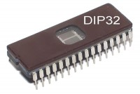 EPROM MEMORY IC 1Mx8 100ns DIP32