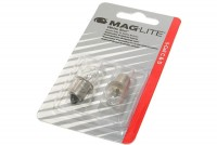 Maglite White Star 5-Cell C&D Krypton SPARE BULBS 2pcs