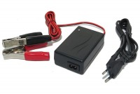 SEALED LEAD ACID BATTERY CHARGER 12V 2,3A 9-60Ah (clips)