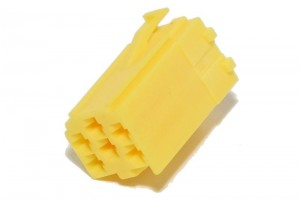 Mini-ISO CAR RADIO CONNECTOR YELLOW