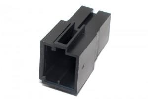 Mini-ISO CAR RADIO SOCKET BLACK