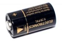 LITHIUM BATTERY 6V 12,8x25mm