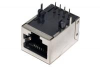 RJ45 (8P8C) SOCKET PCB SHIELDED