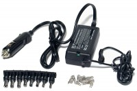 NOTEBOOK CAR POWER SUPPLY 50W 12V/15-24VDC