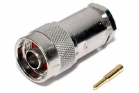 N CONNECTOR MALE SOLDERABLE RG58 SHI
