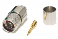 N CONNECTOR MALE CRIMP FOR LMR600 CABLE