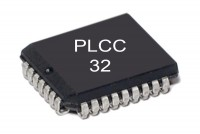 FLASH MEMORY IC 128Kx8 120ns PLCC