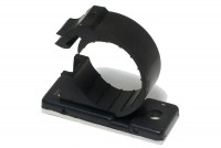 RELEASIBLE CABLE HOLDER Ø18mm BLACK