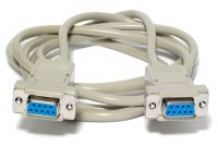 D9 NULL MODEM CABLE 3m (alternate pinout)