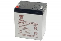 Yuasa 12V 5Ah SEALED LEAD ACID BATTERY FOR CYCLIC USE
