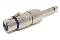 ADAPTERI PLUGI MONO 6,3mm / XLR NAARAS