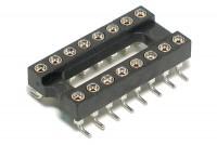 IC SOCKET 16-PINS SMD (DIP16, DIL16)