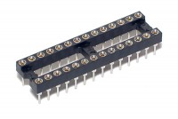 IC SOCKET 28-PINS (DIP28, DIL28)