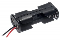 BATTERY HOLDER 2x AA WITH WIRES
