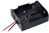 BATTERY HOLDER 2x C IN PARALLEL WITH WIRES