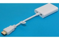 HDMI TO VGA ADAPTER WITH SOUND