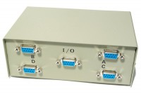 D9 SWITCH BOX 4-CHANNEL