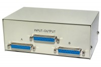D25 SWITCH BOX 2-CHANNEL