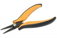 LONG NOSE PLIERS WITH SERRATED JAWS