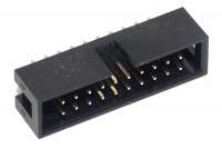 20P SHROUDED PIN HEADER 2x10 R2,54