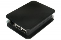 Raspberry Pi 2/B+ MUOVIKOTELO MUSTA (Teko)