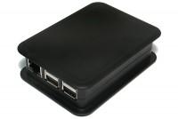 Raspberry Pi 2/B+ PLASTIC ENCLOSURE BLACK (Teko)