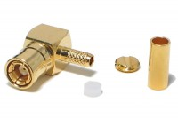 SMB FEMALE CRIMP ANGLE FOR RG316/174 CABLE