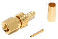 SMC CONNECTOR FEMALE CRIMP FOR RG316/174 CABLE