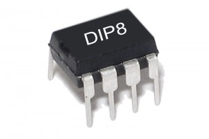I2C EEPROM MUISTIPIIRI 2Kx8 DIP8