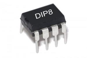 I2C EEPROM MEMORY IC 2x 256x8 DIP8