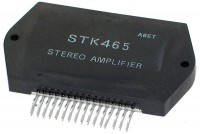 INTEGRATED CIRCUIT AUDIO STK465