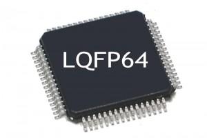 MICROCONTROLLER STM32F0 ARM Cortex-M0 48MHz 64/8KB