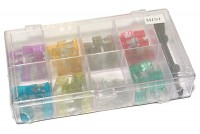 MINI CAR FUSE ASSORTMENT 80pcs