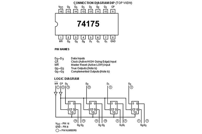 Ttl Logic Ic Ff 74175 Ls Family Dip16 Partco Verkkokauppa