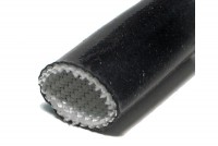 INSULATING SLEEVE GLASS FIBER/SILICONE 220°C Ø10mm