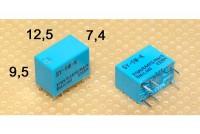 MINIATURE RELAY SPDT 1A 5VDC