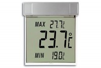 DIGITAL WINDOW THERMOMETER (LCD)