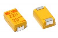 SMD TANTALUM CAPACITOR 22µF 20V