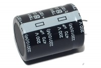 OUTSALE ELECTROLYTIC CAPACITOR 470µF 200V